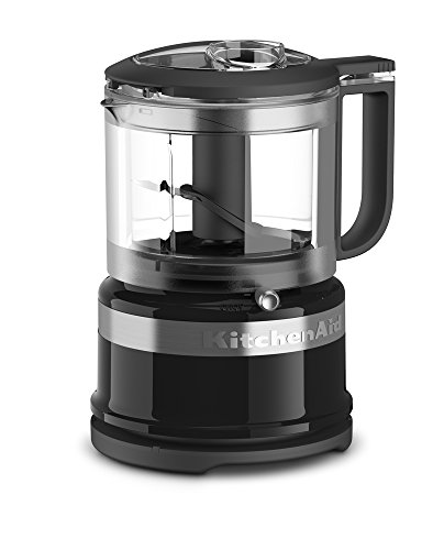 KitchenAid 3.5 Cup Mini Food Processor, Onyx Black