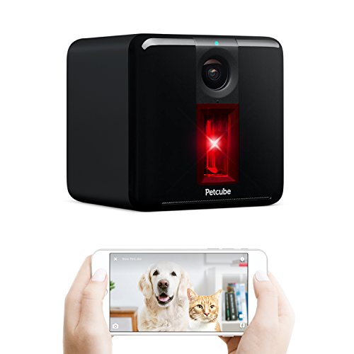 Petcube Play Wi-Fi Pet Camera: HD 1080p Video, 2-Way Audio, Night Vision and Interactive Laser Toy