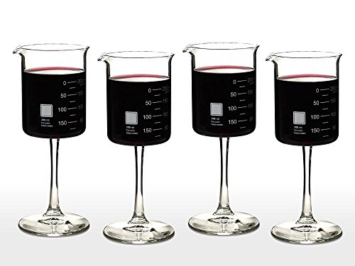 Periodic Tableware Laboratory Beaker Wine Glasses