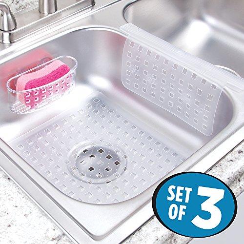 Sink Divider Protector, Suction Sponge Holder