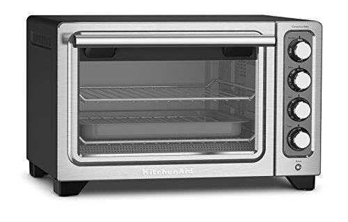 KitchenAid 12-Inch Compact Convection Countertop Oven - Black Matte