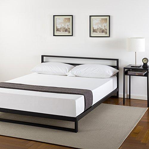 Zinus 7 Inch Platforma Bed Frame with Headboard / Mattress Foundation