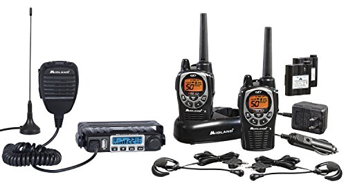 Midland Consumer Radio Micro Mobile 15W GMRS with 8 Repeater Channels