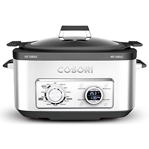 COSORI 6 Qt 11-in-1 Programmable Multi Cooker