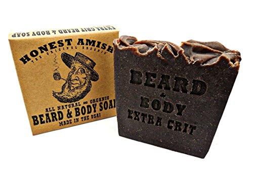 Honest Amish Beard & Body Soap (Extra Grit)
