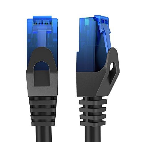 KabelDirekt TOP Series (25ft) Cat6 Gigabit Ethernet Cable with Snagless RJ45 Connector