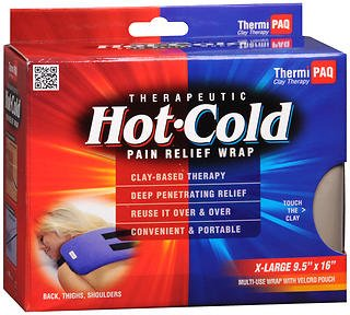 ThermiPaq Therapeutic Hot-Cold Pain Relief Wrap X-Large, Pack of 2
