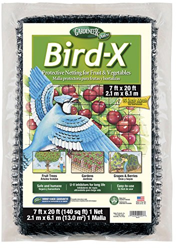 Gardeneer By Dalen Bird-X Protective Netting 7' x 20' (1 Pack)