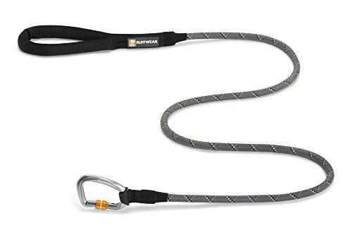 Ruffwear Knot-a-Leash Reflective Dog Leash with Carabiner, Granite Gray, Large