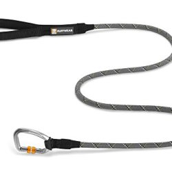 Ruffwear Knot-a-Leash Reflective Dog Leash with Carabiner, Granite Gray, Large