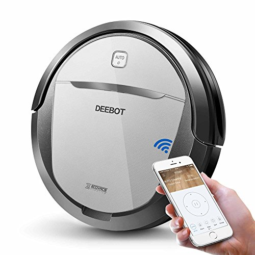 ECOVACS DEEBOT M80 Pro Robot Vacuum Cleaner with Mop and Water Tank Attachment