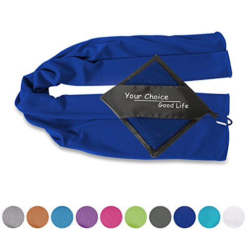 Cool Towel - Cooling Sport Yoga Towel, Cooling Neck Wrap
