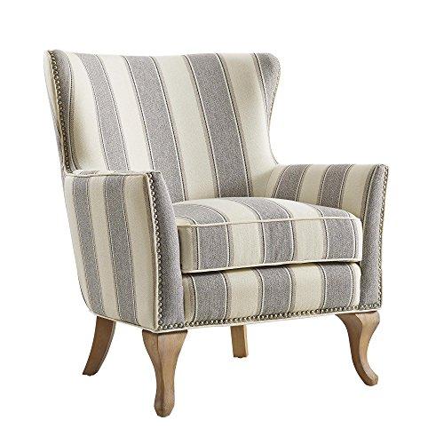 Dorel Living Reva Accent Chair, Gray