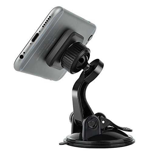 Magnetic Dash Car Mount, APPS2Car Universal Cell Phone Suction Cup Moun