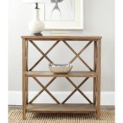 Safavieh American Homes Collection Liam Oak 2-Tier Open Bookcase