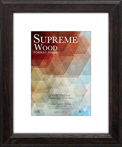 Timeless Frames 12x16 Inch Fits 9x12 Inch Photo Supreme Solid Wood
