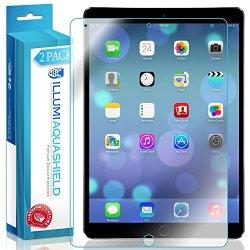Apple iPad Pro 10.5 Screen Protector [2-Pack], ILLUMI AquaShield Full Coverage Screen Protector for Apple iPad Pro 10.5 HD Clear Anti-Bubble Film