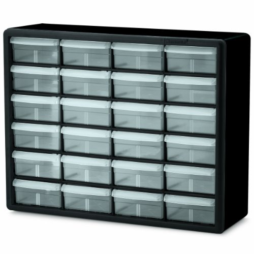 Akro-Mils 24-Drawer Plastic Parts Storage Hardware and Craft Cabinet