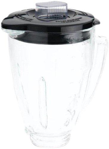 Oster Blender 6-Cup Glass Jar - Black Lid