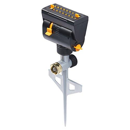 Melnor XT Mini-Turbo Oscillating Sprinkler on a Spike