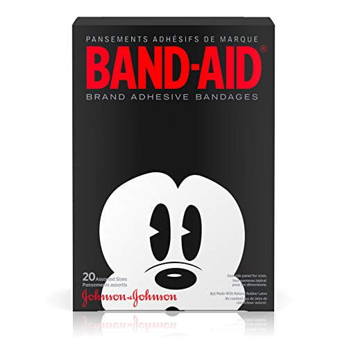 Adhesive Bandages Collector Series Featuring Disney Mickey Mouse For Kids
