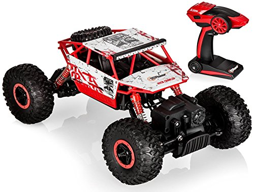 Top Race Remote Control Monster Truck RC Rock Crawler