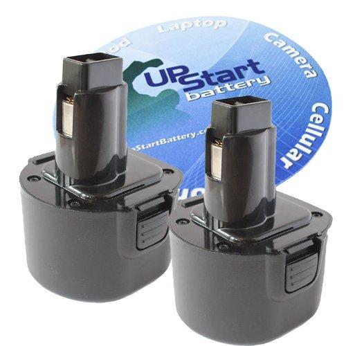 2-Pack DeWalt 9.6V Battery Replacement