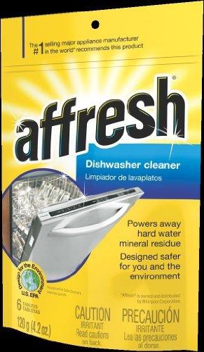 Whirlpool Affresh Dishwasher Cleaner-12 Count Jumbo Size Pack