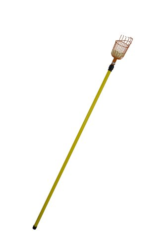 Flexrake Fruit Picker with 13 Foot Telescoping Pole