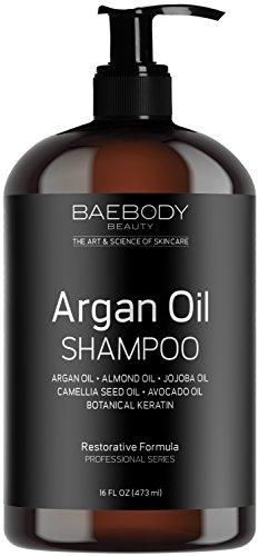 Baebody Moroccan Argan Oil Shampoo 16 Oz - Sulfate Free