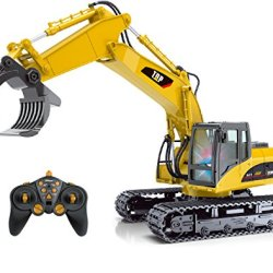 Top Race 15 Channel Full Functional Remote Control Truck RC Fork Excavator