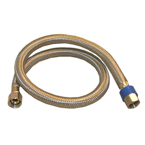 LASCO 36-Inch Water Supply Line, Braided Stainless Steel, 3/8-Inch Female Compression X 3/8-Inch Female Compression