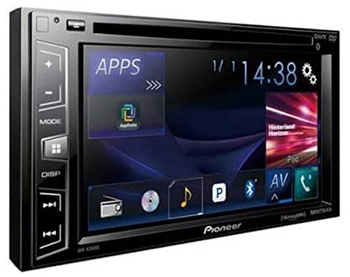 Pioneer Double Din Bluetooth In-Dash DVD/CD/Am/FM Car Stereo Receiver with 6.2 Inch Wvga Screen