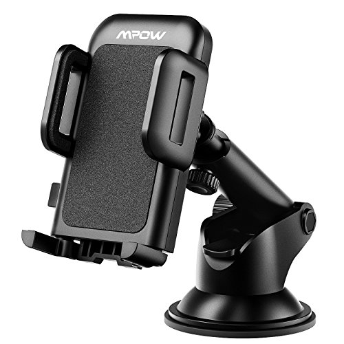 Mpow Car Phone Holder, Washable Strong Sticky Gel Pad with One-Touch Design Dashboard