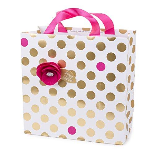 Hallmark Signature Large Gift Bag (Felt Flower)