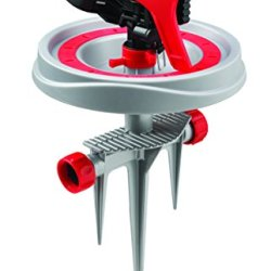 RAINWAVE Impulse Auto Select Watering Sprinkler on Step Spike