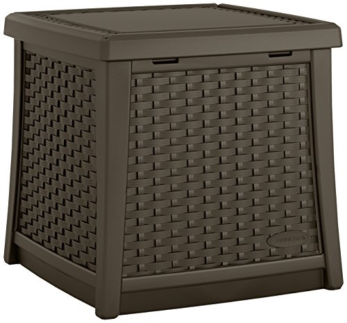 Suncast ELEMENTS End Table with Storage Java