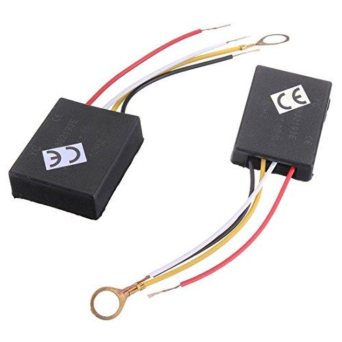 TOOGOO(R) 2 X 110V 3Way Light Touch Sensor Switch Control for Lamp Desk Bulb Dimmer Repair