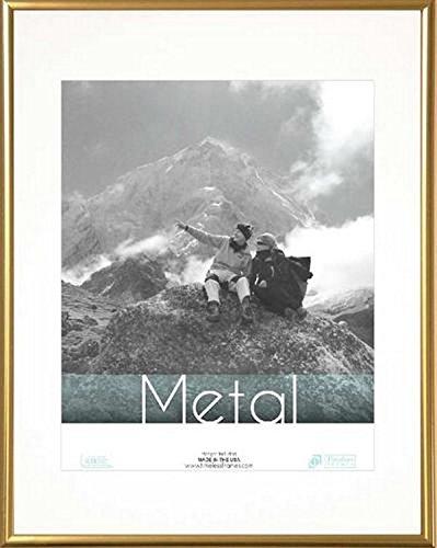 """Timeless Frames Metal Portrait Frame, 11"""" x 14"""", Gold"""