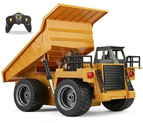 Top Race 6 Channel Full Functional Dump Truck