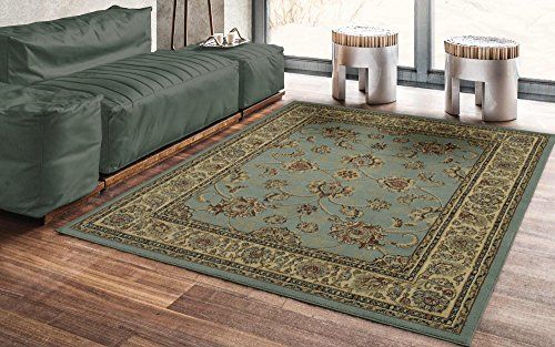 Ottomanson Royal Collection Traditional Oriental Floral Design Area Rug