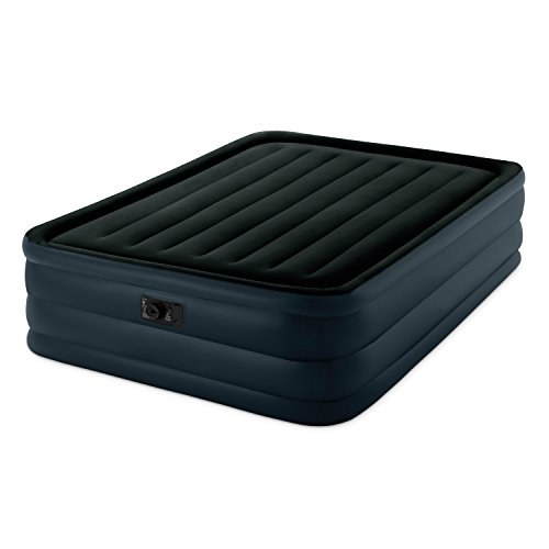 Intex Raised Downy Airbed with Built-in Electric Pump