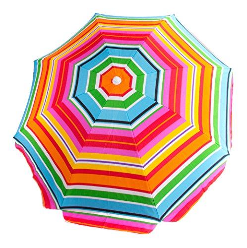 "Cloudnine 80"" Beach Umbrella with Tilt and Carrying Bag"