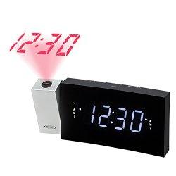 Jensen Radio Alarm Clock Black (JCR-238)