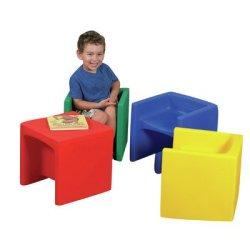 Cube / Educube Kids Novelty Chair (Set of 4)