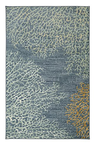 Mohawk Home Strata Coral Reef Coastal Printed Area Rug