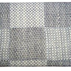 Bhavya International Patchwork Cotton Kantha Quilt Indian Handmade Bedding Blanket