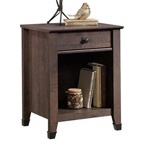 Pemberly Row Nightstand in Coffee Oak