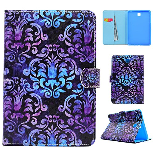 For Samsung Galaxy Tab A 8.0 T350 (2015) Case - ANGELLA-M Tablet Protective Cover Premium PU Leather Wallet Shell Fold Stand Magnetic Closure Case Classic - Totem