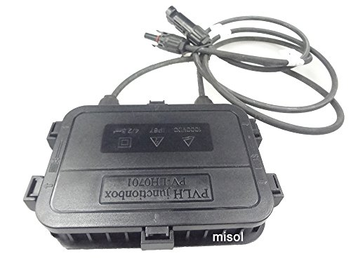 MISOL junction box with MC4 connector+ cable